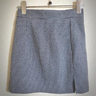 韓国♡チェック柄のミニスカート(ミニスカート)