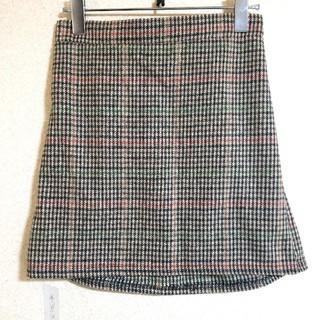 韓国♡チェック柄ミニ スカート(ミニスカート)