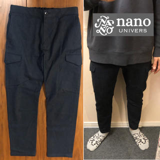 ナノユニバース(nano・universe)の【売約済】他の方は購入しないでください!nano universカーゴパンツイー(ワークパンツ/カーゴパンツ)