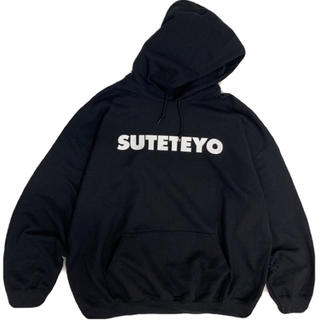 SUTETEYO パーカー BLACK 安達祐実(パーカー)