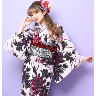 デイジーストア(dazzy store)の藤田杏奈 荒木さやか着用 浴衣セット(浴衣)
