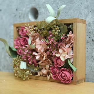 flower box -elegant rose-(ドライフラワー)