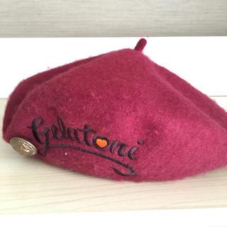 ディズニー(Disney)のジェラトーニ  ベレー帽(ハンチング/ベレー帽)