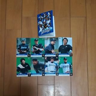 ホッカイドウニホンハムファイターズ(北海道日本ハムファイターズ)の北海道日本ハムファイターズ カード&ケース(記念品/関連グッズ)