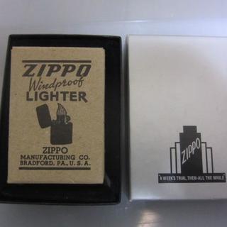 ジッポー(ZIPPO)のZIPPO新中古 41レプリカ ブラック クラックル復刻版(タバコグッズ)