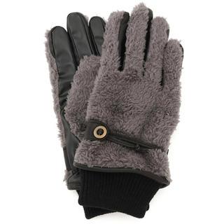 アダムエロぺ(Adam et Rope')のアダムエロペ EXPLORER グローブ グレー 手袋 アウトドア スポーツ (手袋)