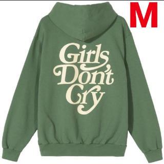 ジーディーシー(GDC)のgirls don't cry 緑 M L(パーカー)