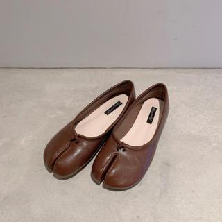 トゥデイフル(TODAYFUL)の足袋バレエシューズ タビパンプス レディース  サンダル 靴(バレエシューズ)