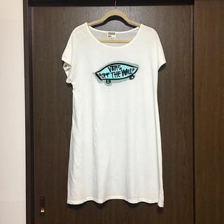 ヴァンズ(VANS)のVANS    ロングTシャツ レディース Mサイズ(Tシャツ(長袖/七分))