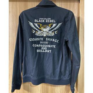 ルードギャラリー(RUDE GALLERY)のルードギャラリー ブラックレベル イーグル刺繍ブルゾン(ブルゾン)