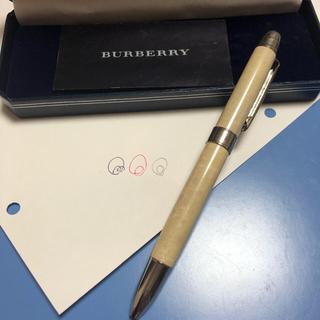 バーバリー(BURBERRY)のバーバリー 三色 ボールペン(ペン/マーカー)
