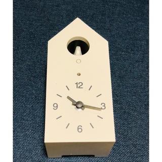 ムジルシリョウヒン(MUJI (無印良品))の鳩の飛び出る壁掛け時計(掛時計/柱時計)