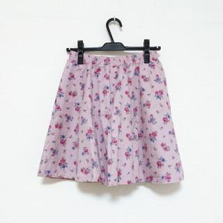 フィント(F i.n.t)のフィント 花柄スカート(ミニスカート)