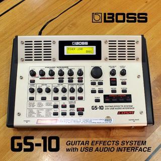 ローランド(Roland)の家録音に最適【BOSS GS10】エフェクター/USBインターフェイス 送料込(エフェクター)