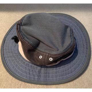 コロンビア(Columbia)のColumbia 調整可あごひも付帽子 グレイ 茶 ピンク(帽子)