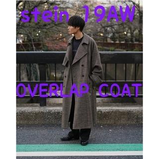 サンシー(SUNSEA)のstein 19AW LAY OVERSIZED OVERLAP COAT【S】(トレンチコート)