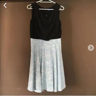 エディグレース(EDDY GRACE)のワンピース ドレス 美品(ひざ丈ワンピース)