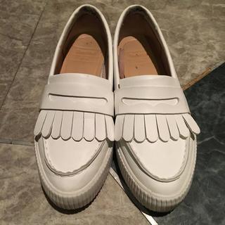 646abf2a909f0b ベルシュカ(Bershka)のベルシュカ フリンジローファー 値下げ可(ローファー/革靴)