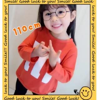【大人気!】ラスト1点!M&M's キッズTシャツ オレンジ