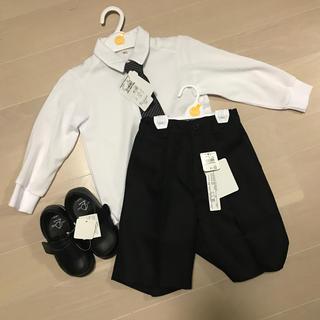 ニシマツヤ(西松屋)の西松屋 キッズ男の子100㎝ 靴15㎝ フォーマル(ドレス/フォーマル)