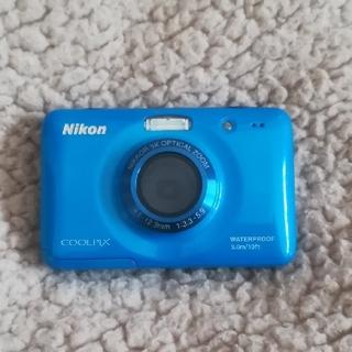 ニコン(Nikon)の新品!NIKON  COOLPIX S30  SDカード&単三電池付き(コンパクトデジタルカメラ)
