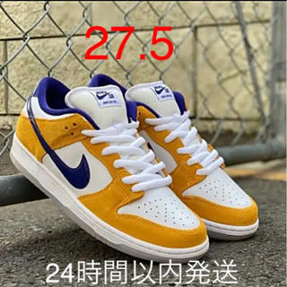 ナイキ(NIKE)のNIKE SB DUNK LOW PRO LASER ORANGE 27.5新品(スニーカー)
