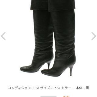 ジュゼッペザノッティデザイン(Giuseppe Zanotti Design)のサイズ36 カラー黒 イタリア(ブーツ)