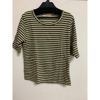 ドットアンドストライプスチャイルドウーマン(Dot&Stripes CHILDWOMAN)のボーダーカットソー(Tシャツ/カットソー(半袖/袖なし))