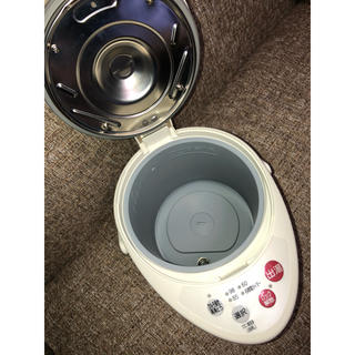 パナソニック(Panasonic)のナショナル製 06年式 電気ポット 2.2L NC-EM22(電気ポット)