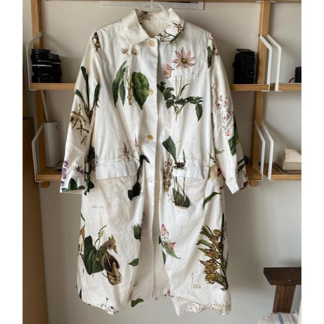 Paul Harnden(ポールハーデン)のポールハーデン  paul harnden 植物柄 コート レディースのジャケット/アウター(スプリングコート)の商品写真