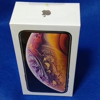 アイフォーン(iPhone)のdocomo iPhone xs 64GB gold ロック解除済 未開封 新品(スマートフォン本体)