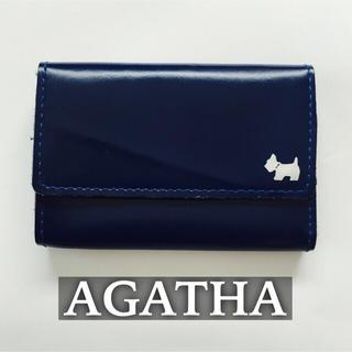 アガタ(AGATHA)の【送料込】AGATHA*本革カードケース(名刺入れ/定期入れ)