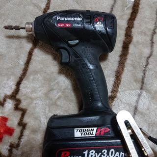 パナソニック(Panasonic)のパナソニック充電インパクトドライバーEZ75A1本体、バッテリー(工具)