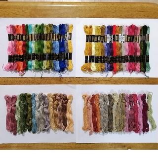 オリンパス(OLYMPUS)の刺繍糸 OLYMPUS★73本★set  オリムパス 25番 刺しゅう糸(生地/糸)