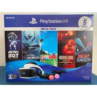 プレイステーションヴィーアール(PlayStation VR)の新品 PlayStation VR MEGA PACK CUHJ-16010 (家庭用ゲーム機本体)