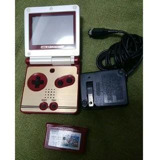 ゲームボーイアドバンス(ゲームボーイアドバンス)の任天堂ゲームボーイアドバンスsp ファミコンカラー(携帯用ゲーム機本体)