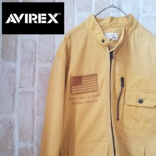 AVIREX - 【 レア】AVIREX アメリカ国旗 薄手ジャケット