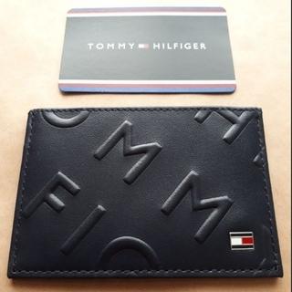 トミーヒルフィガー(TOMMY HILFIGER)のTOMY HILFIGERトミーヒルフィガー定期入れパスケース(名刺入れ/定期入れ)