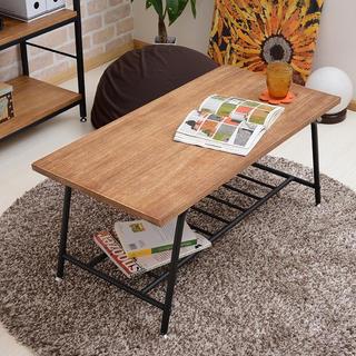 【送料無料】Antique Process Low Table(ローテーブル)
