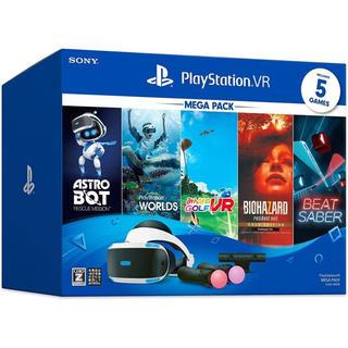 プレイステーションヴィーアール(PlayStation VR)の【新品未開封】プレイステーションVRメガパック(家庭用ゲーム機本体)