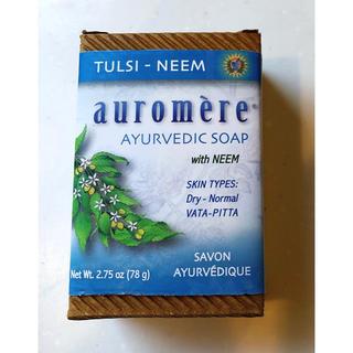オーロメア(auromere)のauromere(オーロメア) ハーバルソープバー トゥルシーニーム 78g(ボディソープ/石鹸)