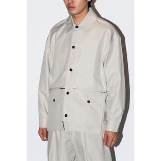 オフホワイト(OFF-WHITE)のLownn / Utility Short jacket off white(ミリタリージャケット)