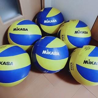 ミカサ(MIKASA)のバレーボール練習球・5号球〖※個数5球〗✨未来を楽しむために🎶(バレーボール)