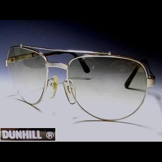 ダンヒル(Dunhill)のDUNHILL/ ダンヒル ツーブリッジティアドロップ型 (サングラス/メガネ)