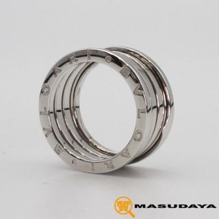 ブルガリ(BVLGARI)のブルガリビーゼロワンリングK18WG【超美品】(リング(指輪))