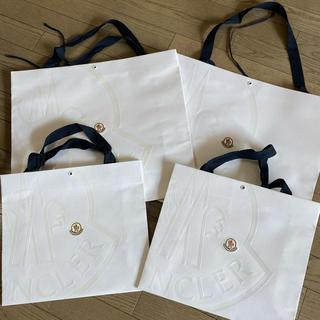 モンクレール(MONCLER)のモンクレール MONCLER 紙袋 4袋セット(ショップ袋)
