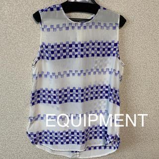エキプモン(Equipment)のエキプモン EQUIPMENT FEMME シルク ブラウス(シャツ/ブラウス(半袖/袖なし))