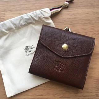 イルビゾンテ 財布 がま口財布 IL BISONTE C0423 869(折り財布)
