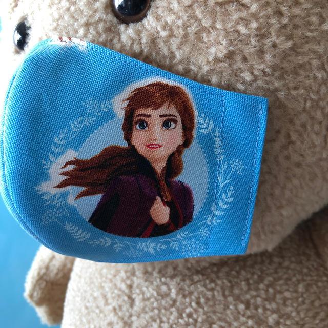 5〜9歳用 アナと雪の女王密着型インナーマスク🆕 【ハンドメイド】223 ハンドメイドのキッズ/ベビー(外出用品)の商品写真