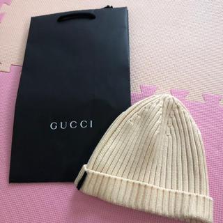 Gucci - GUCCI ニット帽 XLサイズ